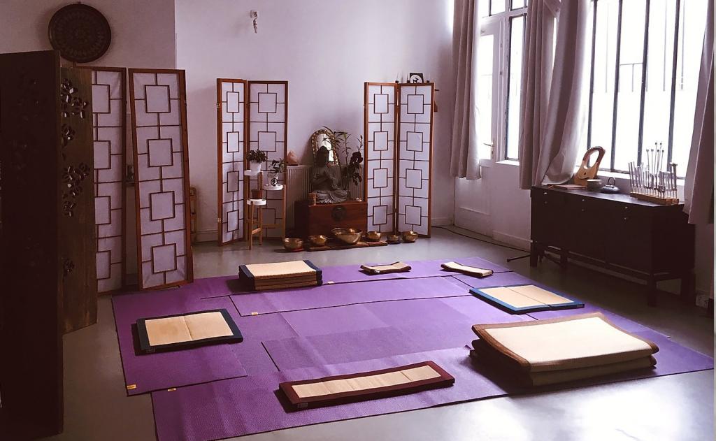 salle Babel Zen- Paris 20ème - Ronde de la vie - formations shiatsu, relaxation, Communication et relation d'aide