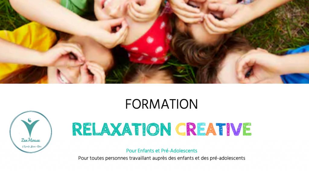 Brochure relaxation créative - enfants - meaux - Zen House - marie-Claire Michaud