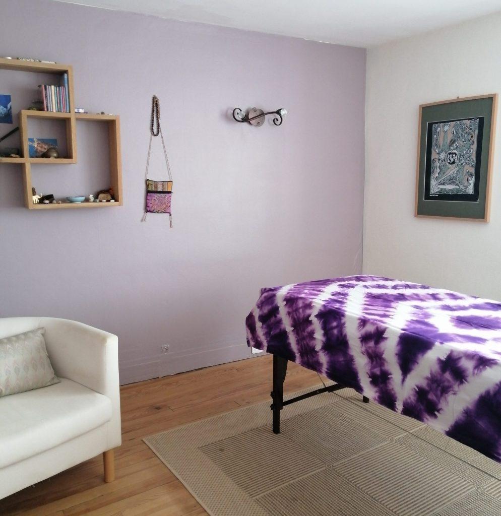 salle shiatsu - ussy sur marne - Marie-Claire Michaud